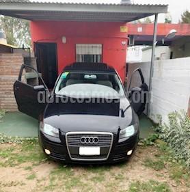 Audi A3 2.0 3P FSI usado (2007) color Negro precio u$s7.500