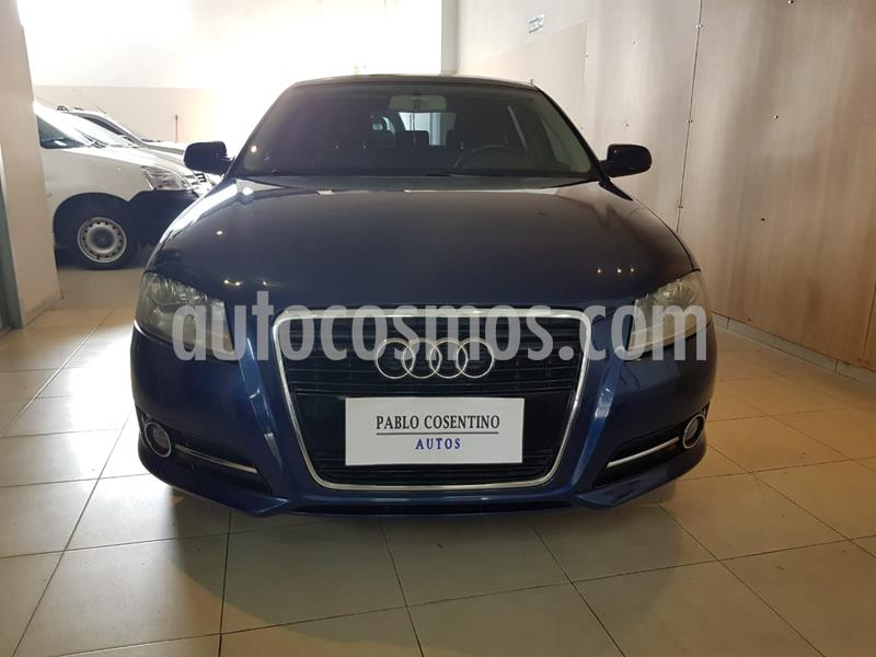 Audi A3 Sportback 1.4 T FSI S Tronic usado (2011) color Azul Aruba precio u$s9.600
