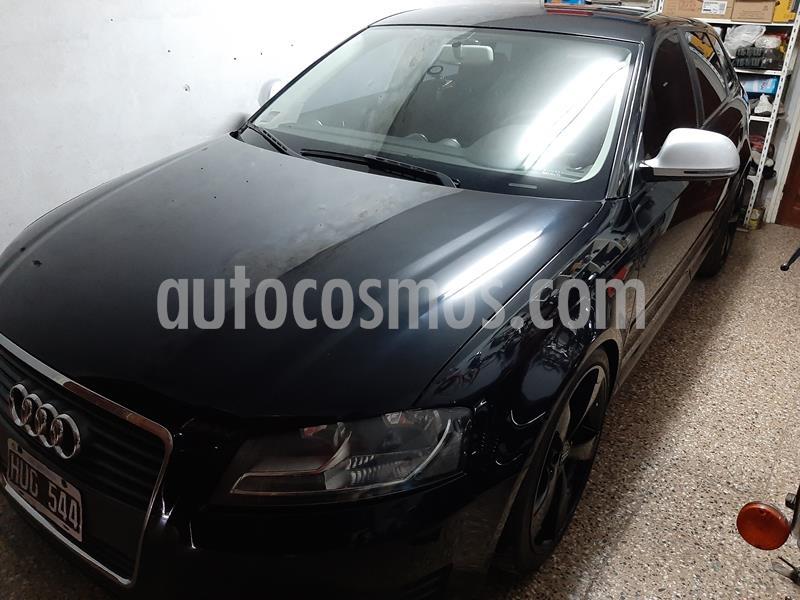 Audi A3 Sportback 1.6 S-Tronic usado (2009) color Negro precio $850.000