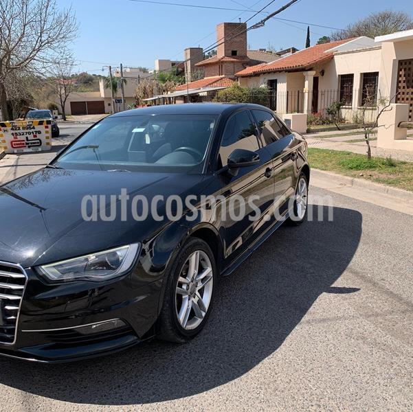 Audi A3 2.0 T FSI 3P  usado (2015) color Negro precio $2.450.000