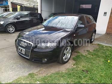 Audi A3 Sportback 2.0 T FSI usado (2006) color Negro precio $520.000
