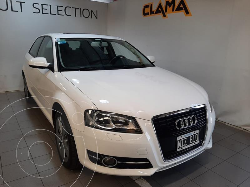 Foto Audi A3 1.6 3P usado (2013) color Blanco Ibis precio $3.250.000