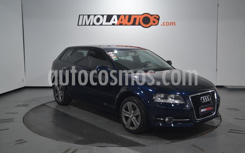Audi A3 Sportback 1.4 T FSI usado (2013) color Azul Cosmico precio $1.600.000