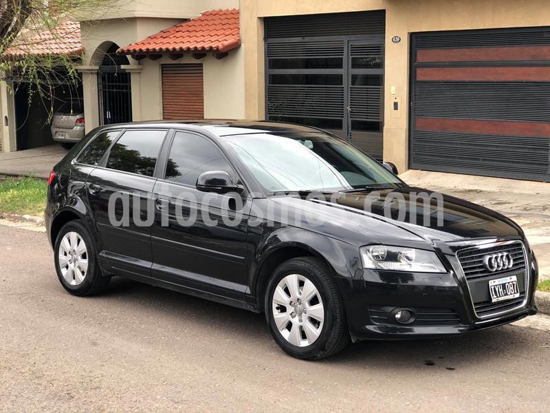 Audi A3 Sportback 1.6 S-Tronic usado (2010) color Negro precio u$s6.900