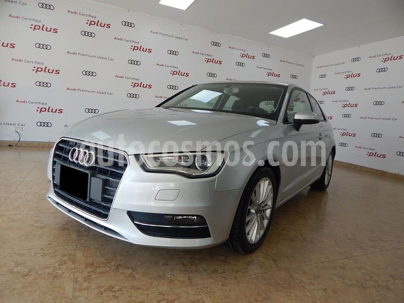 Audi A3 1.4L Ambiente Plus usado (2014) color Plata Dorado precio $210,000