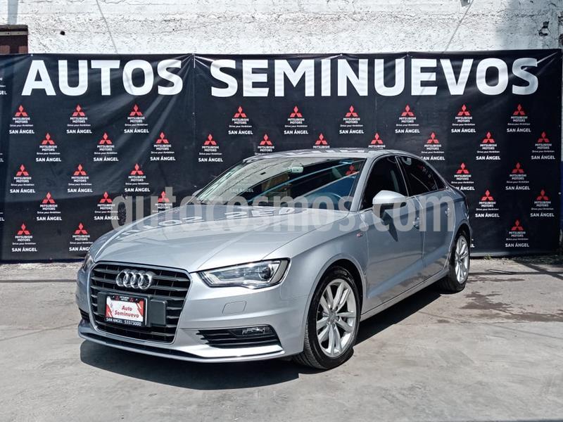 Audi A3 1.8L T FSI Attraction usado (2016) color Plata Hielo precio $295,000