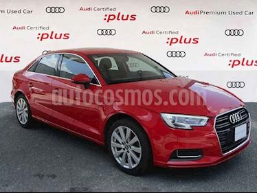 Audi A3 4p Sedan Select L4/1.4/T Aut usado (2017) color Rojo precio $270,000