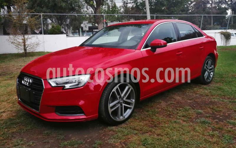 Audi A3 Sedan 1.4L Dynamic Aut usado (2017) color Rojo precio $285,000