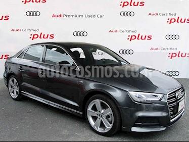 Audi A3 4p 2.0 Sedan 40 TFSI S Line usado (2020) color Gris precio $580,000
