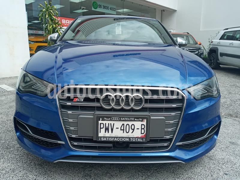 Audi A3 2.0L S-Line usado (2015) color Azul precio $369,000