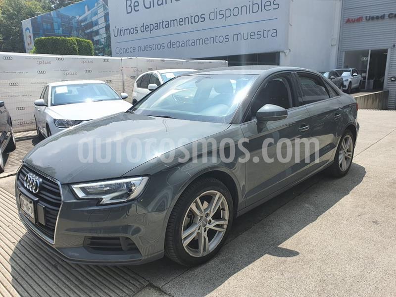 Audi A3 Sedan 1.4L Dynamic Aut usado (2018) color Gris precio $329,000
