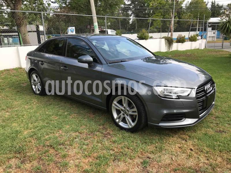 Audi A3 Sedan 1.4L Dynamic Aut usado (2018) color Gris precio $315,001