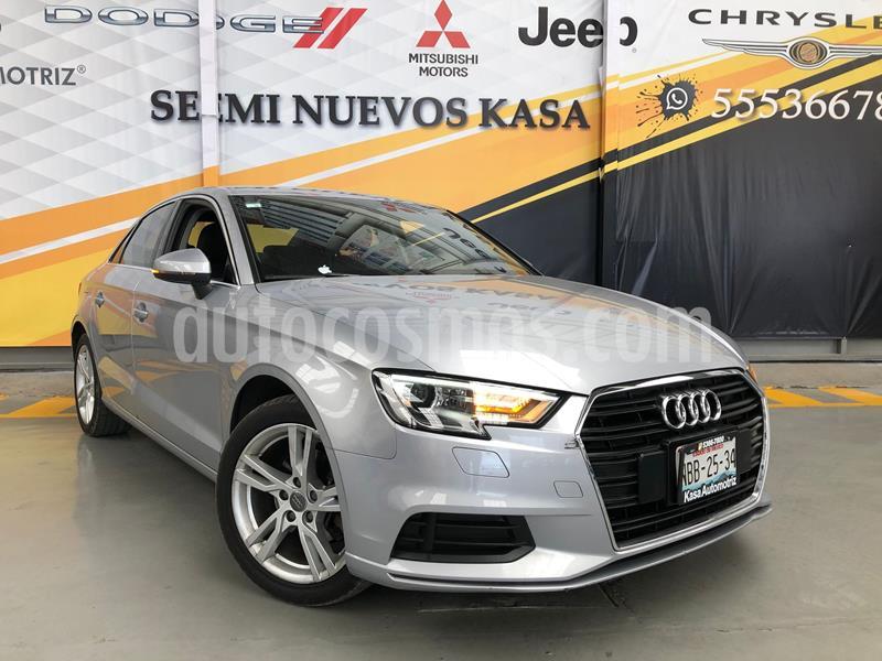 Audi A3 1.4L Dynamic usado (2017) color Plata Dorado precio $275,000