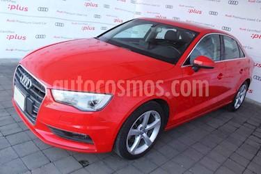 Audi A3 4p Sedan Attration L4/1.4/T Aut usado (2015) color Rojo precio $250,000