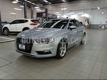 Audi A3 1.8L Ambiente usado (2016) color Plata precio $285,000