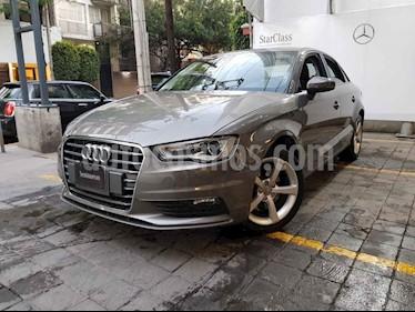 Audi A3 4p Sedan Ambiente L4/1.8/T Aut usado (2014) color Cafe precio $255,000