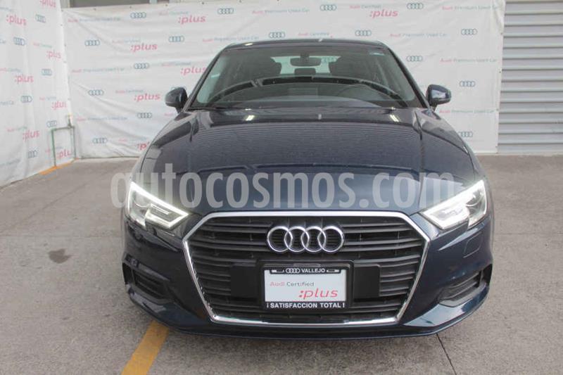 Audi A3 Sedan 2.0L Dynamic Aut usado (2018) color Azul precio $370,000