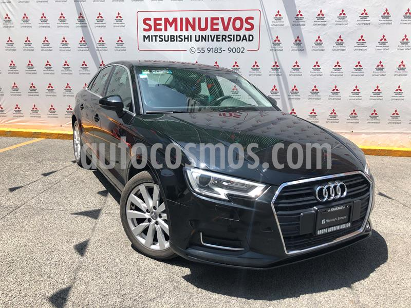 Audi A3 Sedan 1.4L Select Aut usado (2018) color Negro Basalto precio $340,000