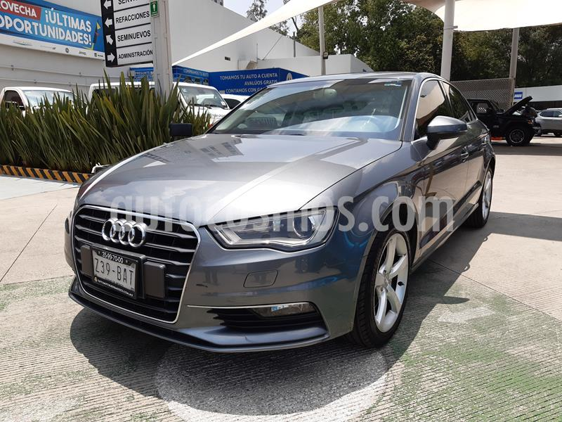 Audi A3 1.8L Attraction Aut usado (2015) color Gris precio $275,000