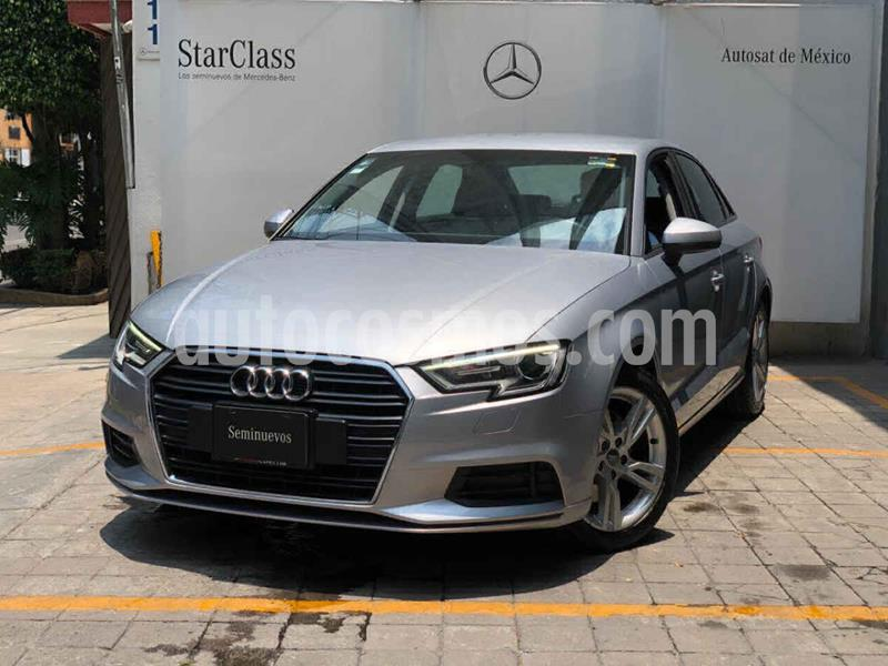 Audi A3 Sedan 2.0L Dynamic Aut usado (2018) color Plata precio $375,000