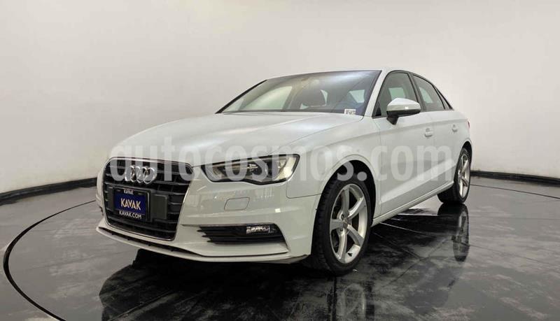 Audi A3 Sedan 1.8L Ambiente Aut usado (2015) color Blanco precio $259,999