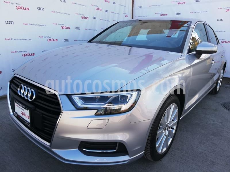 Audi A3 Sedan 1.4L Select Aut usado (2020) color Plata Dorado precio $490,000