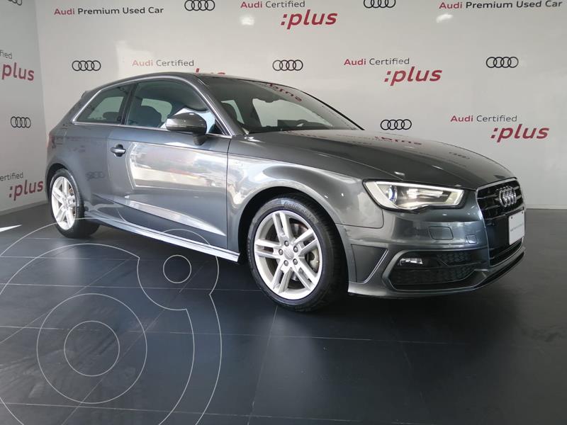 Foto Audi A3 1.8L S-Line usado (2013) color Gris precio $280,000