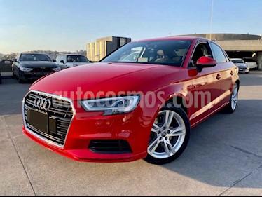 Audi A3 4p Sedan Dynamic L4/2.0/T Aut usado (2017) color Rojo precio $330,000