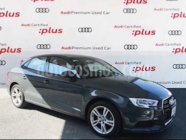 Audi A3 4p Sedan Dynamic L4/1.4/T Aut usado (2019) color Gris precio $400,000