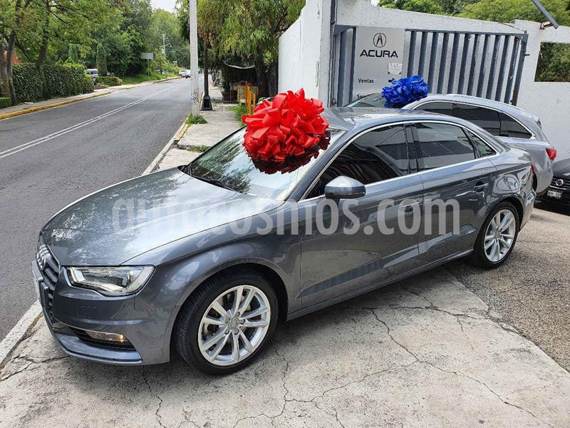 Audi A3 1.8L Attraction Plus Aut usado (2016) color Gris precio $300,100