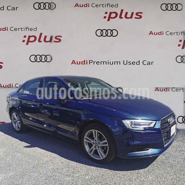 Audi A3 Sedan 1.4L Dynamic Aut usado (2018) color Azul precio $325,000