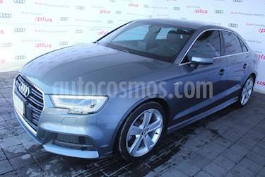 Audi A3 4p Sedan 2.0TFSI 190hp S Line usado (2017) color Gris precio $425,000