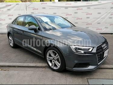 Audi A3 Sedan 1.4L Dynamic Aut usado (2019) color Gris precio $379,000