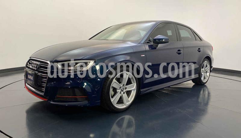 Audi A3 Sedan 1.8L S Line Aut usado (2018) color Azul precio $459,999