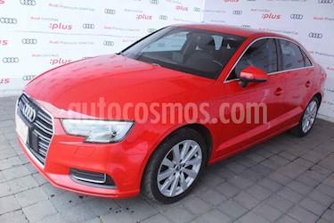 Audi A3 4p Sedan Select L4/1.4/T Aut usado (2017) color Rojo precio $320,000