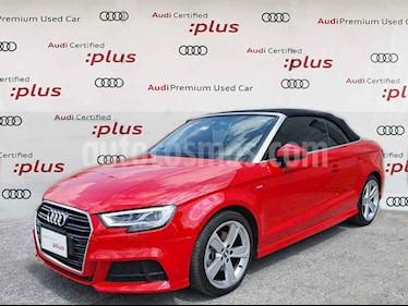 Audi A3 Sedan 2.0L S Line Aut usado (2020) color Rojo precio $620,000