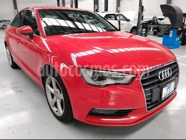 Audi A3 4P AMBIENTE 1.8T 180HP TA RA-17 usado (2015) color Rojo precio $265,000