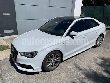 Audi A3 Sedan 1.8L S Line Aut usado (2015) color Blanco Glaciar precio $279,000