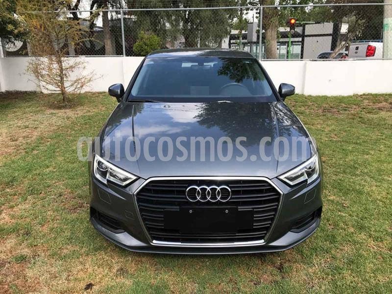 Audi A3 Sedan 1.4L Dynamic Aut usado (2018) color Gris precio $315,010