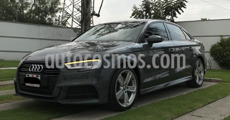 Audi A3 Sedan 2.0L S Line Aut usado (2017) color Gris precio $415,000