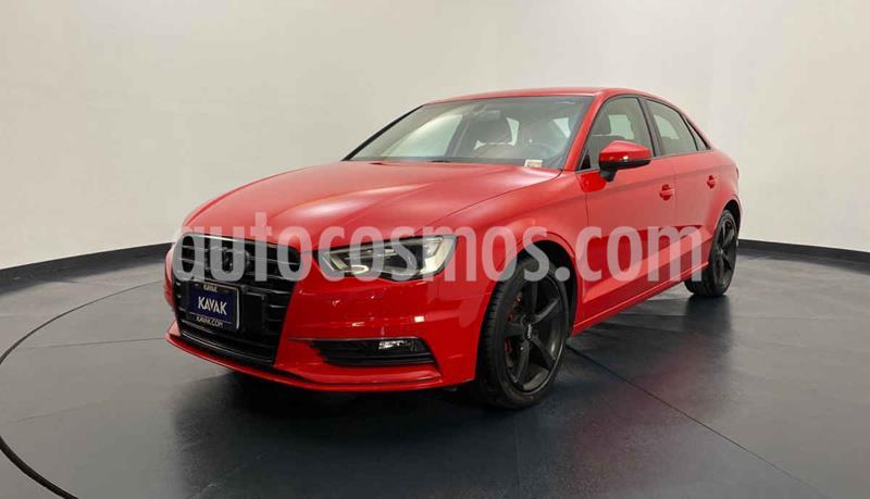 Audi A3 1.8L T FSI Attraction S-tronic usado (2016) color Rojo precio $282,999