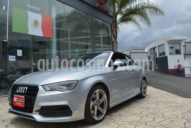 Audi A3 Cabriolet 1.8L S Line Aut usado (2015) color Plata precio $370,000