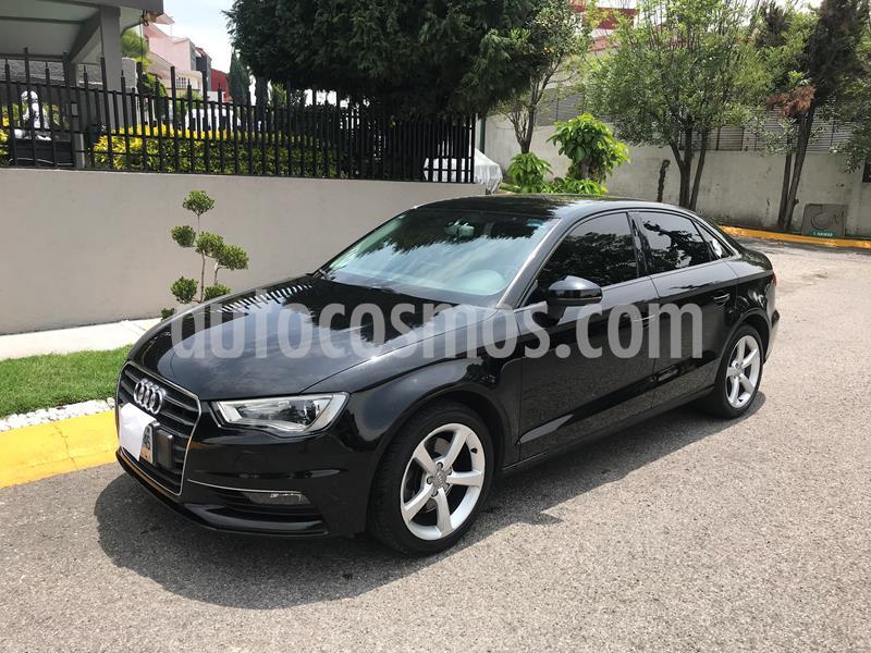 Audi A3 1.8L Ambiente Plus S-Tronic  usado (2016) color Negro precio $280,000