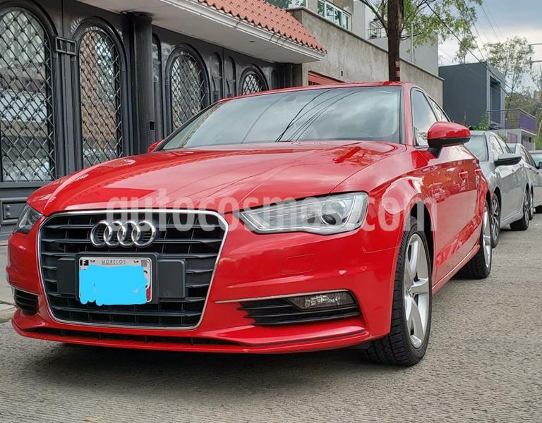 Audi A3 1.4L Ambiente Plus S-Tronic usado (2016) color Rojo precio $253,000