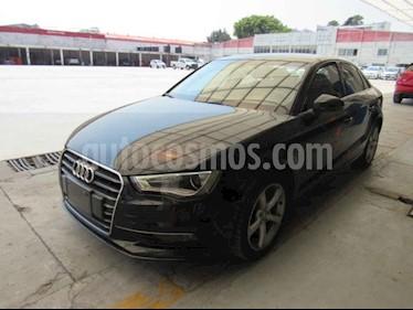 Audi A3 4p Sedan Ambiente L4/1.4/T Aut usado (2016) color Negro precio $115,000