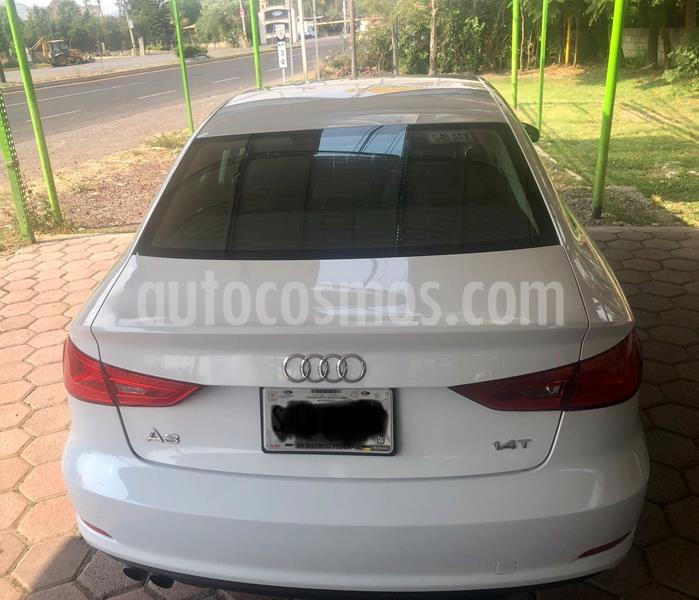 Audi A3 Sedan 1.4L Ambiente Aut usado (2015) color Blanco Glaciar precio $230,000
