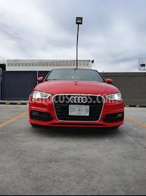 Audi A3 1.8L S Line Aut usado (2014) color Rojo precio $235,000