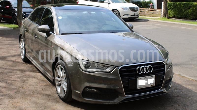 Audi A3 Sedan 1.8L S Line Aut usado (2014) color Gris precio $245,000
