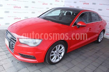Audi A3 4p Sedan AttractionPlus L4/1.8/T Aut usado (2014) color Rojo precio $260,000