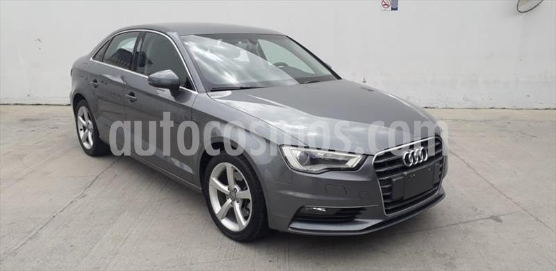 Audi A3 Sedan 1.8L Attraction Aut usado (2016) color Gris Oscuro precio $290,000